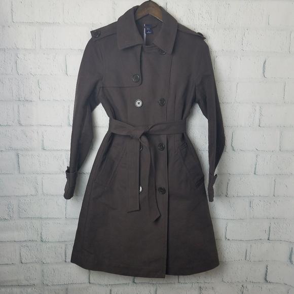 GAP Jackets & Blazers - Gap | Brown Trench Coat